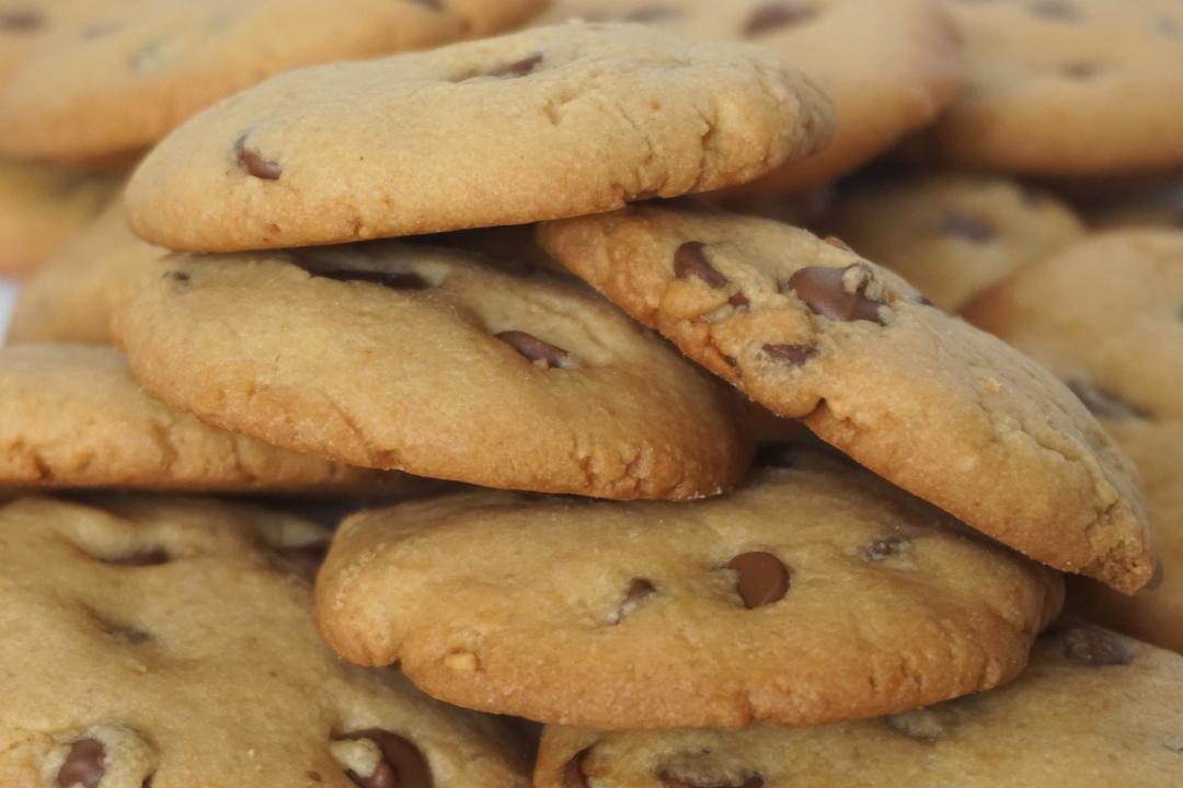 cookies beurre de cacahu tes pepites chocolat lenaelle. Black Bedroom Furniture Sets. Home Design Ideas