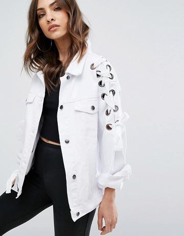 veste-jean-blanc-lacets