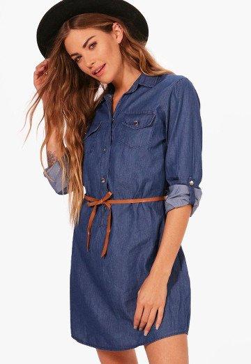 robe-chemise-jean