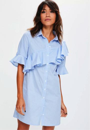 robe-chemise-rayee