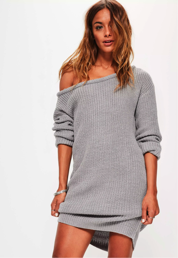 robe-pull-grise-missguided-lenalle