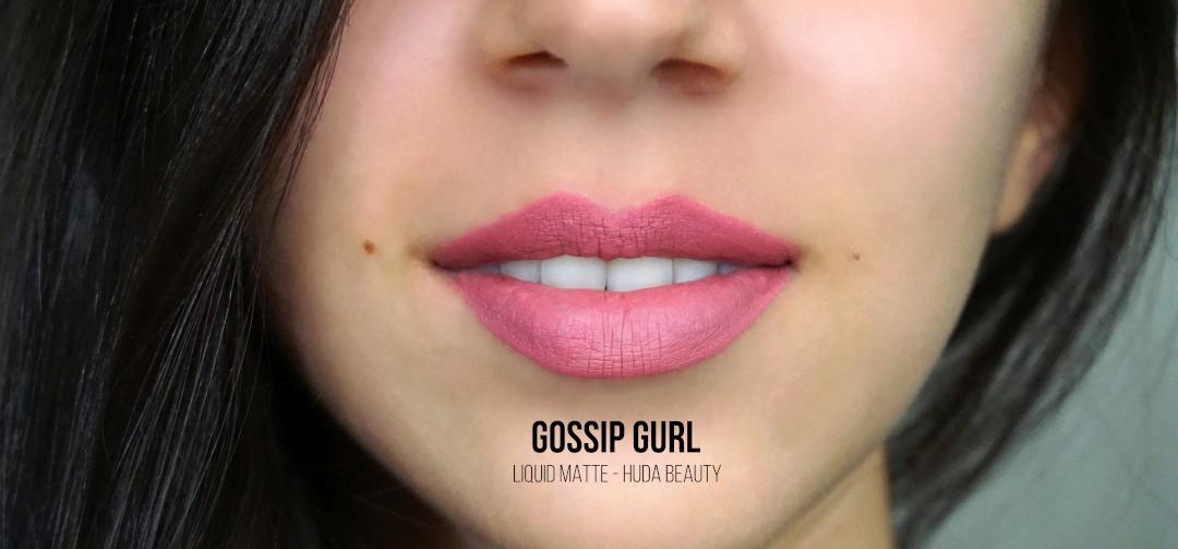 Huda Beauty Gossip Gurl Liquid Matte