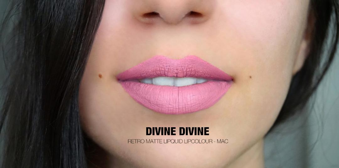 Divine Divine Retro Matte Lipcolour Mac