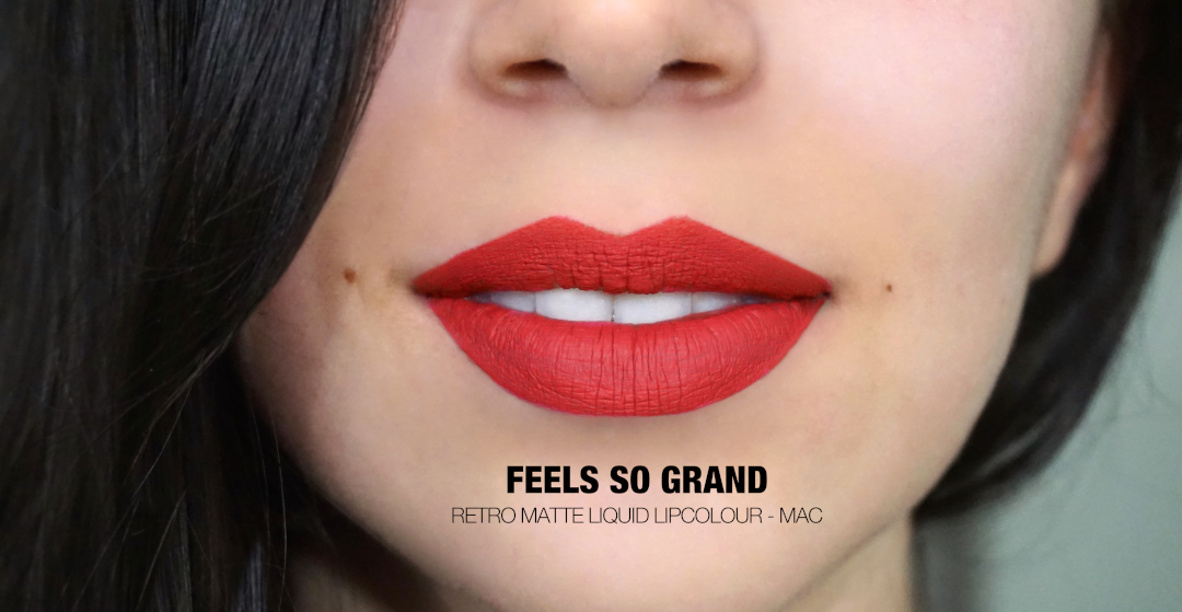 Feels So Grand Retro Matte Lipcolour Mac